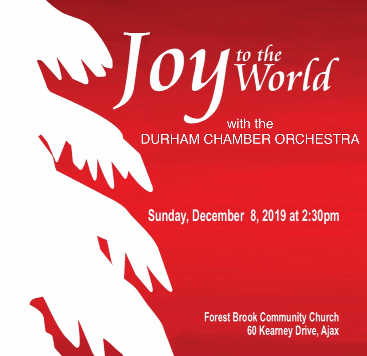 DURHAM CHAMBER ORCHESTRA & Joy to the World