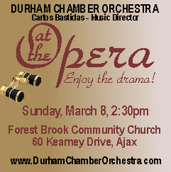 At the Opera with Durham Chamber Orchestra